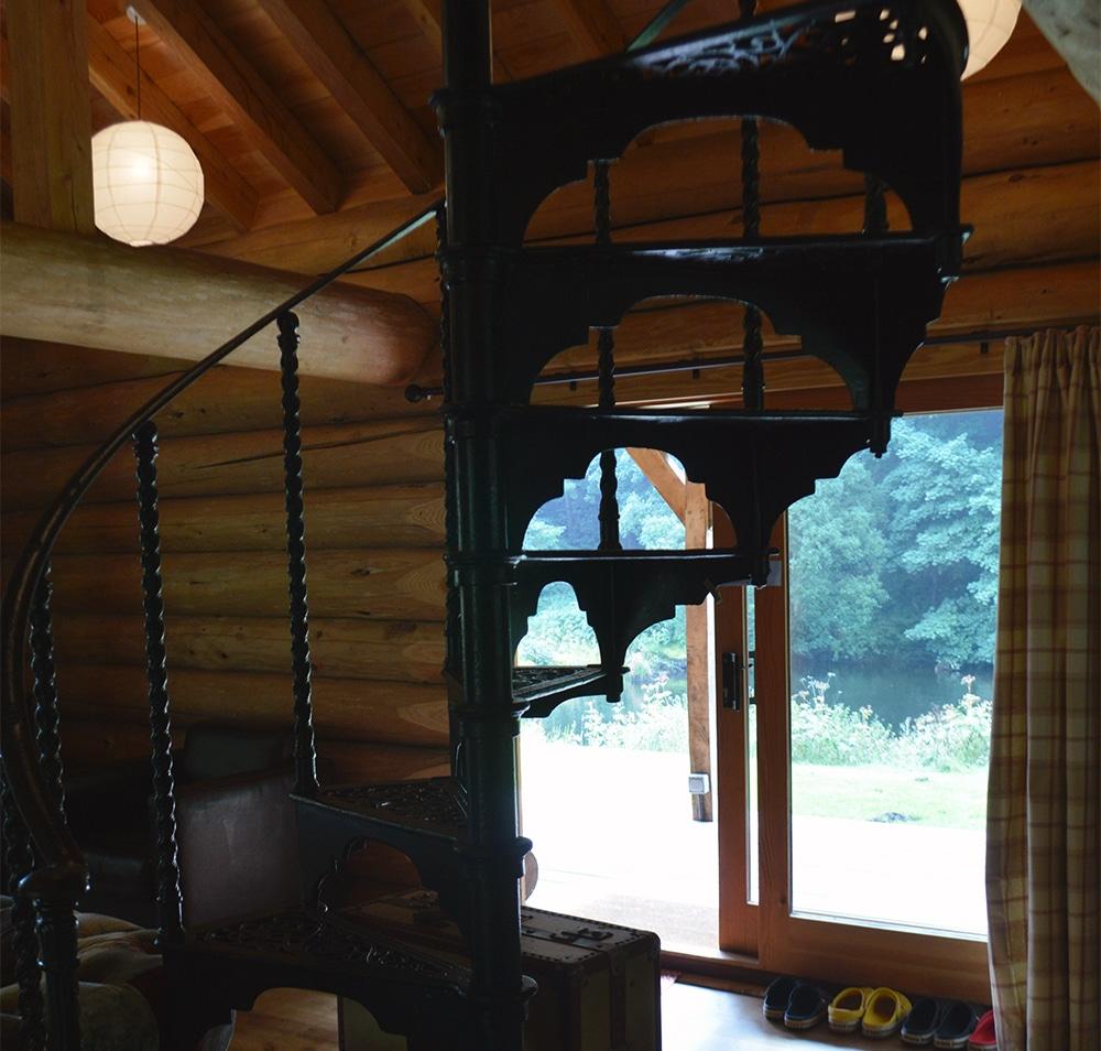 Cast Iron stair case