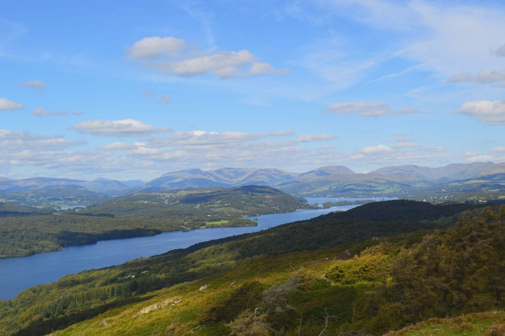 View from Gummer's How Windermere