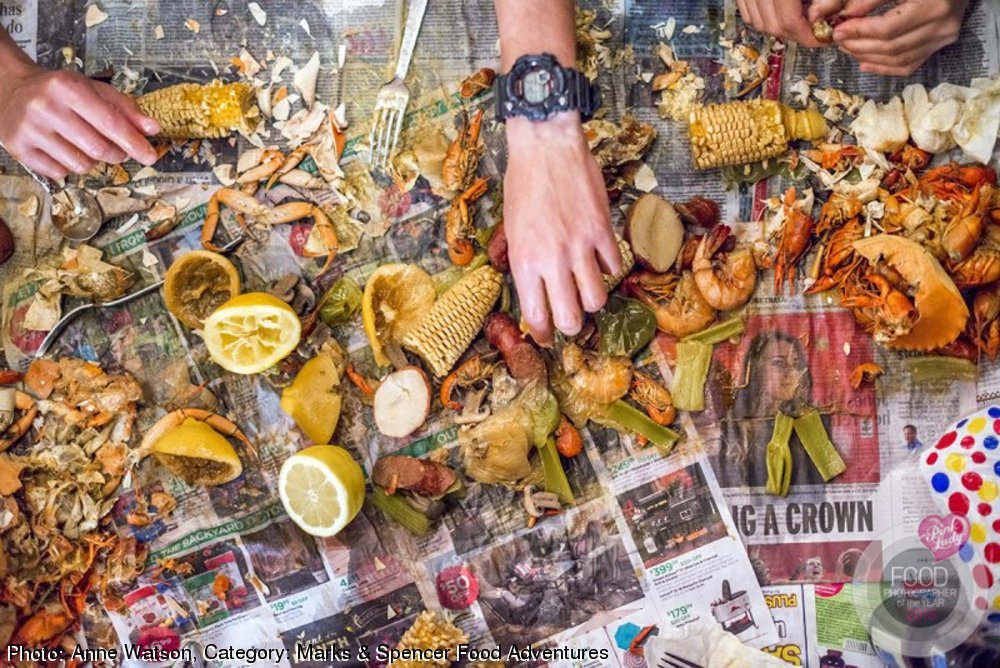 Food Photographer of the Year Crawfish