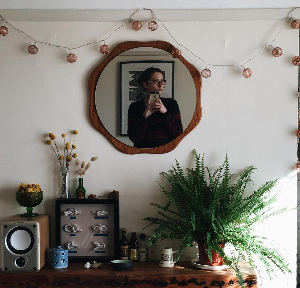 Farewell Number 36, mantelpiece, Mirror Selfie,