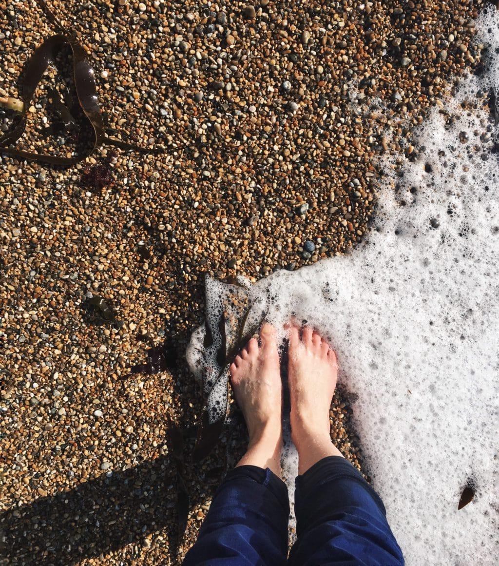 Durdledoor, Dorset, Feet in the sand, A Day Away