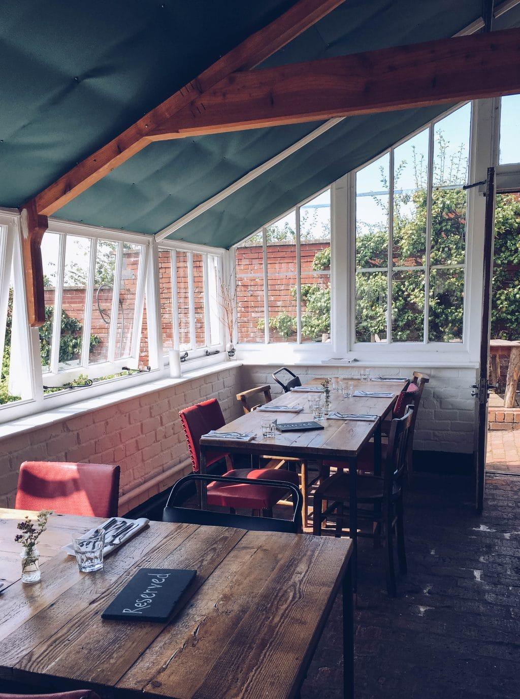 Restaurant at The Ethicurean, Bristol