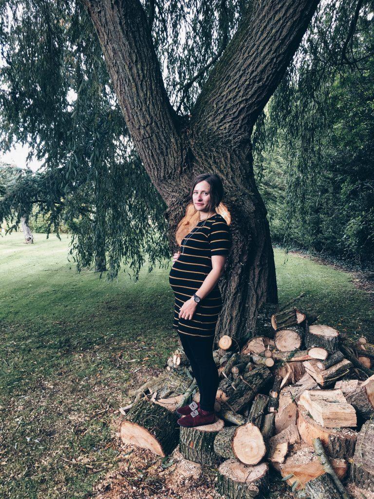 5 months pregnant Widbrook Grange