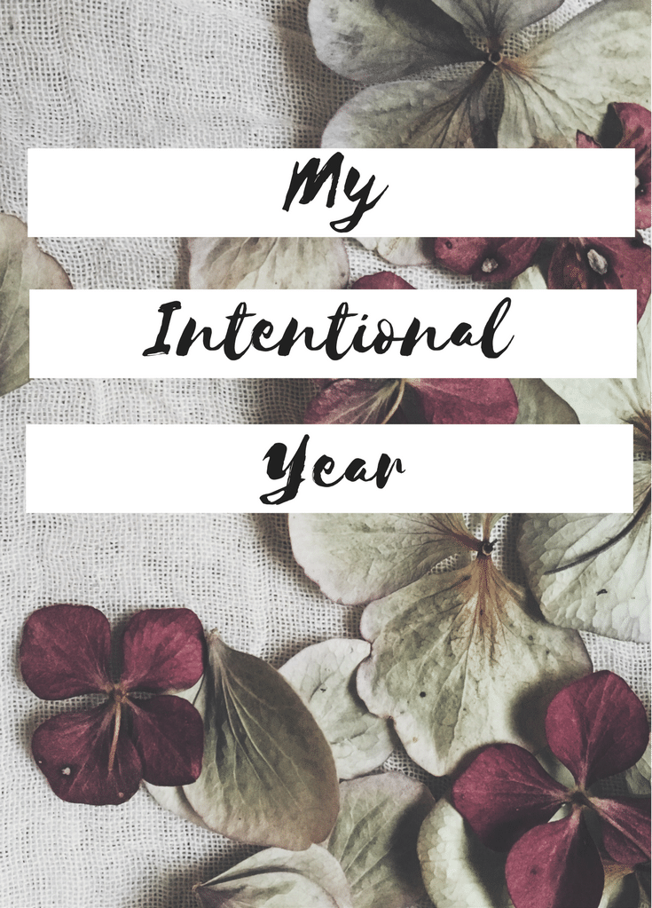 My Intentional Year