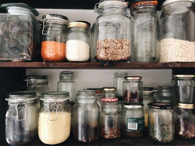 Plastic free july Kilner jars
